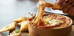 Serve up this mouthwatering Fan Favorite Pizza Dip from @sargentocheese at your big game bash!