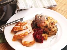 Bread puddings and other moist dishes come out extremely well in the slow cooker. This classic stuffing flavored with sage and pork sausage is no different.\n