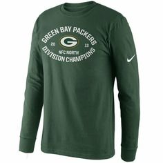 Nike Green Bay Packers 2013 NFC North Division Champions Long Sleeve T-Shirt - Green