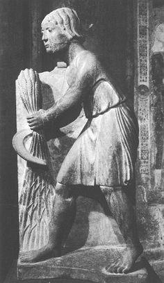 ANTELAMI, Benedetto  Italian sculptor, Parma school (active 1170-1230)  June  c. 1200  Stone  Baptistry, Parma