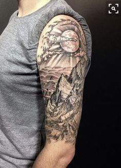 Drews mountain range is really comin along im particularly the details on this magnificent tattoo is extremely good there are the lines that shows its roughness and shadows to denote how steep these are gumiabroncs Images