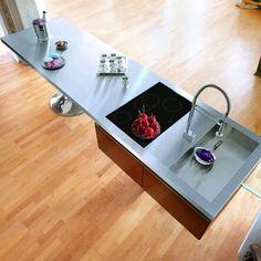Warendorf Kitchen Island by Philippe Starck.