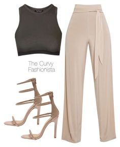 """Untitled #877"" by thecurvyfashionistaa ❤ liked on Polyvore featuring Topshop"