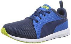 Puma Carson Runner Jr, Unisex-Kinder Sneakers, Blau (poseidon-poseidon-cloisonné 13), 35.5 EU (3 Kinder UK) - http://uhr.haus/puma-6/puma-carson-runner-jr-unisex-kinder-sneakers-blau
