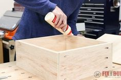 6 Easy Steps to Make Drawers : 6 Steps (with Pictures) - Instructables How To Make Drawers, Diy Drawers, Large Drawers, Cabinet Drawers, Cupboard, Woodworking Tools List, Woodworking Projects That Sell, Popular Woodworking, Woodworking Furniture
