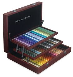 Prismacolor Wood Box Sets - BLICK art materials Forget the other box I pined, this is the one I want!
