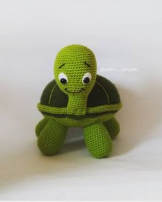 Amazing and Easy Amigurumi Pattern Images and Crochet Animals 2019 - Page 39 of 49 - Daily Crochet! Cute Crochet, Crochet Toys, Easy Amigurumi Pattern, Crochet Turtle, Pattern Images, Crochet Animals, Crochet Projects, Dinosaur Stuffed Animal, Creatures