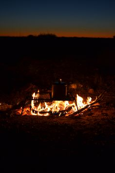 Australia, Outback, Desert, Fire, Billy cans, sunset, travel, adventure, camping, Photography, DTPhotography