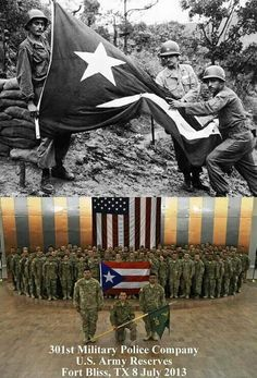 Puerto Rico is US. and serve Equally in the US Armed Forces.
