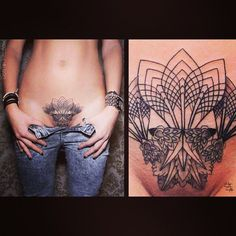 Image result for women crotch tattoos