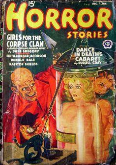Horror Stories DecemberJanuary 1939