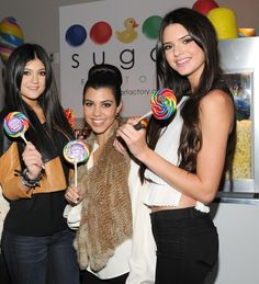 Throwback to Kendall's Sweet 16 at Sugar Factory!