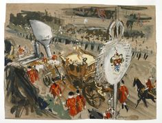 Coronation Procession in Oxford Street | Museum of London