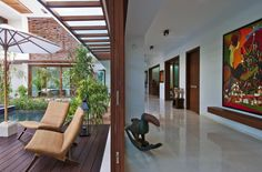 Courtyard #House | Hiren Patel Architects