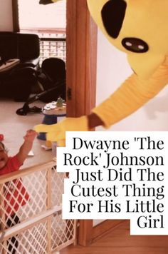 "We all know Dwayne ""The Rock"" Johnson as the WWE wrestling superstar turned A-list actor, but he's also a pretty kick-ass dad. This Halloween, Johnson decided to surprise his daughter, Jasmine, with a visit from one of her favorite characters, Pikachu. Because the real Pikachu had a scheduling conflict, Johnson took his place and pulled off what is perhaps his greatest acting role yet."