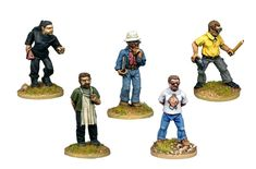 SV067 - Factory Staff Beat Em Up, Cyberpunk, Miniatures, Modern, Fictional Characters, Activity Toys, Trendy Tree, Fantasy Characters, Minis