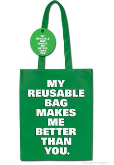 Bring your reusable bags, but leave your judgment at the door