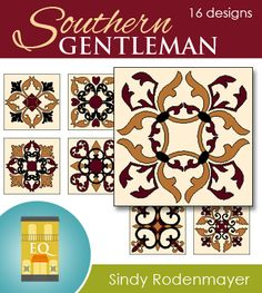Southern Gentleman - 16 designs by Sindy Rodenmayer