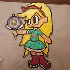 Star Butterfly - Star vs. the Forces of Evil perler bead sprite by peckapon