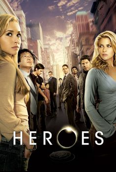Heroes. I'm still angry that this show got canceled. I mean, how much better can you get than Milo Ventimiglia with super powers? Also, the sexiest super villain of all time (Zachary Quinto).