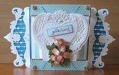 FEBRUARI 2014 - Marianne Creatables Design Die Handmade Card