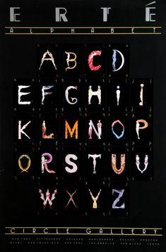 Erte Alphabet