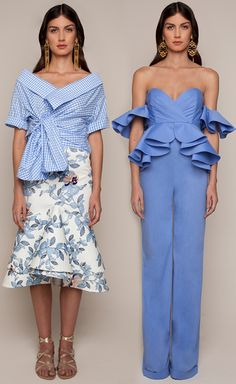 Johanna Ortiz Resort 2016 - Daffodil Top and Jasmine Skirt, Azucena Jumpsuit