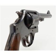 "Smith & Wesson United States Property marked Model 1917 DA revolver, .45 cal., 5-1/2"" barrel, blu"