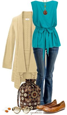 """Vera Bradley Ditty Bag"" by cynthia335 on Polyvore"