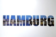 "Wanddekoration / Wandbuchstaben - Schriftzug ""HAMBURG""   ca. 115x25cm Cuadros Lifestyle http://www.amazon.de/dp/B00KPWWNEE/ref=cm_sw_r_pi_dp_usZyub1AE9H8J"