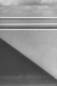 Exhibition - Ellsworth Kelly - Works in Exhibition - Matthew Marks Gallery Balcony, Belle-Île-en-Mer 1977 Gelatin silver print 12 x 8 inches;