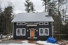 Best Galvalume Roof And Dark Gray Exterior House Colors Metal Roof Houses Galvalume Roof 400 x 300