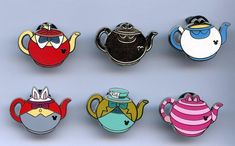 alice teapot hidden mickeys