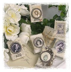 Shabby Chic Inspired: matchboxes