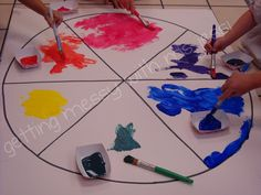 Getting Messy With Ms. Jessi: Color Wheel: 2012 Version