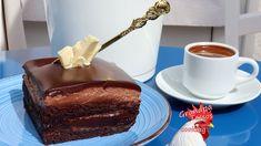 Σοκολατίνα ζουμερή! Με νουτέλα! Πιο σοκολατένια δεν γίνεται!!! - YouTube Chocolate Treats, Delicious Chocolate, Chocolate Cake, Greek Recipes, Nutella, Tiramisu, Good Food, Pudding, Sweets