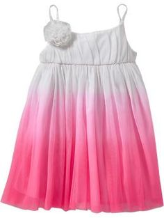 Cutest Tulle Ombré dress for baby girl