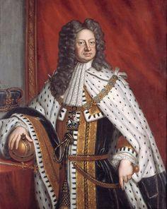 König Georg I. im Krönungsornat, nach Godfrey Kneller, um 1720, Historisches Museum Hannover - © Historisches Museum Hannover