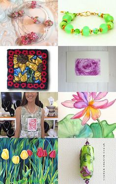 Spring Jewels by Natalie on Etsy--Pinned with TreasuryPin.com