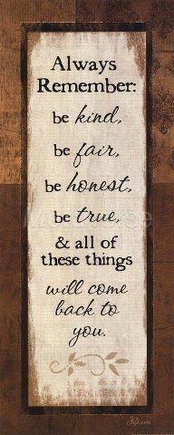 Always remember...