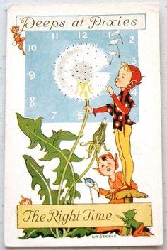 L. R. Steele vintage postcard, via eBay