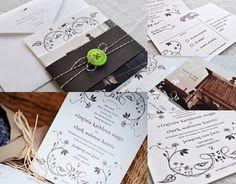 Genna + Clark Wedding Suite by Andrea Mentzer