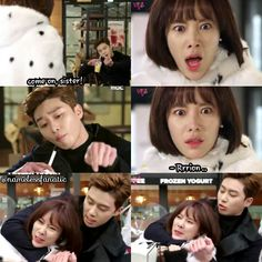 c'mon sister! ^^ park seo joon hwang jung eum 황정음 parkseojoon 박서준 kill me, heal me killmehealme