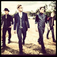 Shinedown: an actually decent rock band who's music is good and NOT full of junk, no high pitched voices, and NO screaming. They're my first love :)