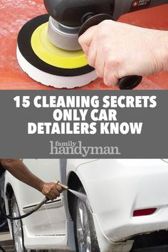 File this under: life hacks. Spring is here, or at least for some of us, and that means lots of cleaning. We've rounded up ten more easy life hacks that aim to make your life easier, such as using a Keurig coffee machine to fill up … Car Cleaning Hacks, Safe Cleaning Products, Deep Cleaning Tips, Car Hacks, Toilet Cleaning, House Cleaning Tips, Spring Cleaning, Cleaning Supplies, Cleaning Painted Walls