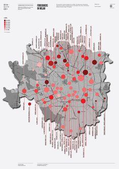 Foreigners in Milan | von densitydesign