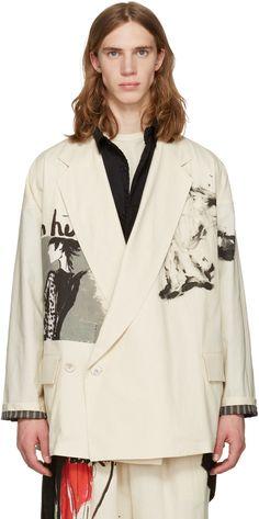 Yohji Yamamoto - Ivory 'Yohji' Jacket