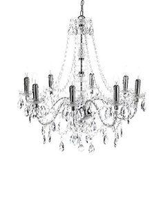 Contemporary Living Lampadario Jewel Clear Trasparente diametro 80 H.77 cm
