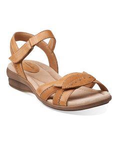 Look at this #zulilyfind! Beige Reid Timber Leather Sandal #zulilyfinds $49.99, regular 90.00