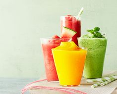 Easy Fruit Slushies for Kids of All Sizes